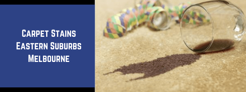 Carpet Stains Eastern Suburbs Melbourne